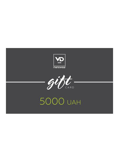 Сертификат на 5000 грн