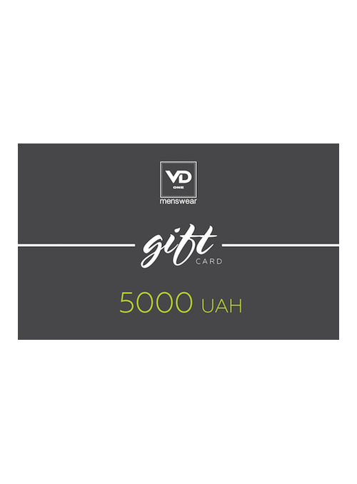Сертифікат на 5000 грн