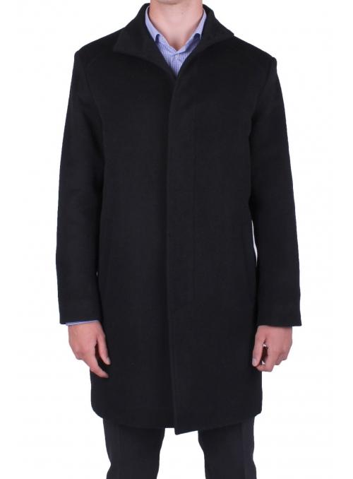 Пальто мужское шерстяное длинное