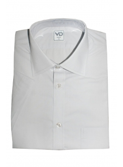 Shirt is gray classical