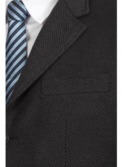 Піджак чорно-сірий вовняний