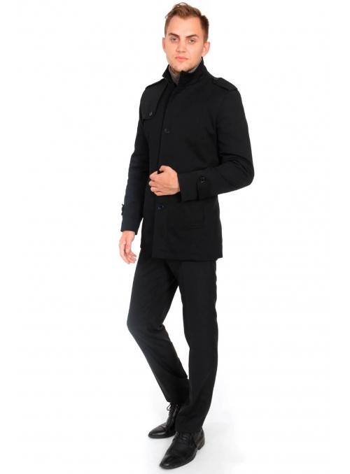 Куртка-плащ хлопковая черная