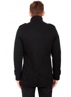 Куртка-плащ бавовняна чорна