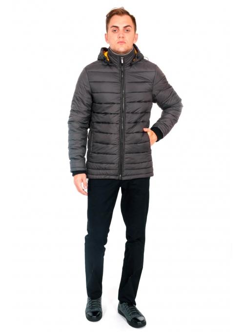 Куртка мужская темно-серая