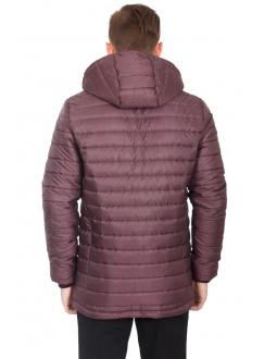 Куртка мужская баклажановая