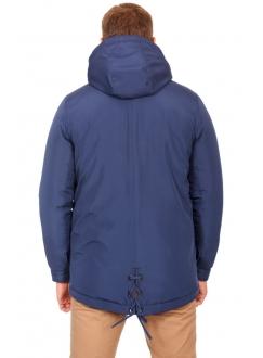 Куртка темно синя