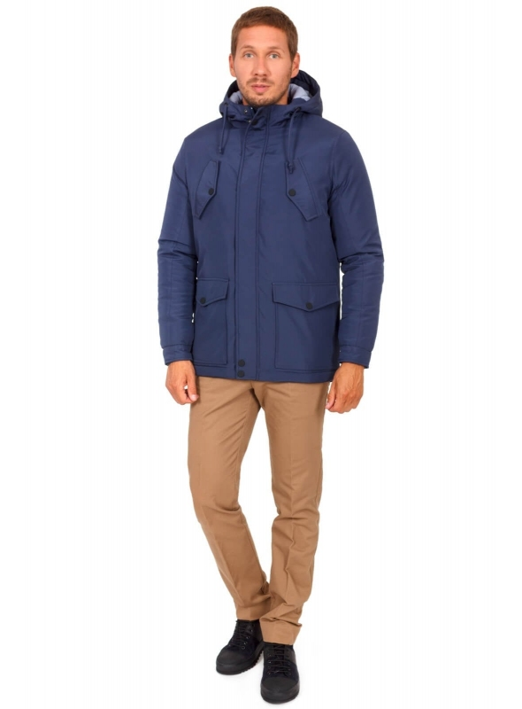 Куртка темно синяя