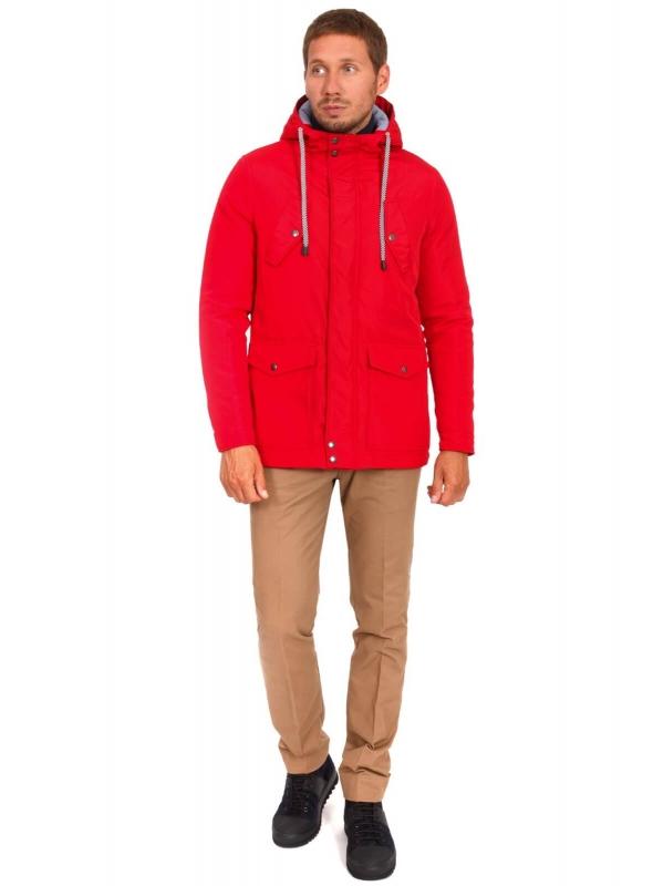 Куртка темно красная