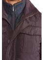 Куртка темно-коричнева