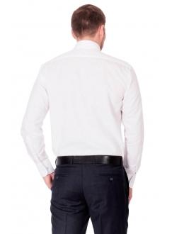 Сорочка біла класична без кишені