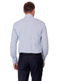 Сорочка блакитна класична без кишені