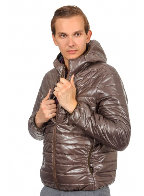Men's chocolate jacket