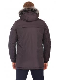 Куртка коричневая на молнии