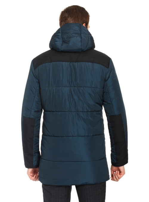Men's jacket with a hood