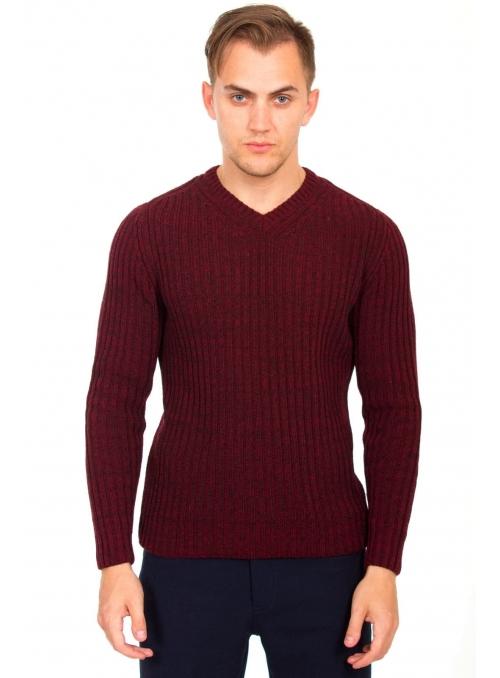 Пуловер шерстяной
