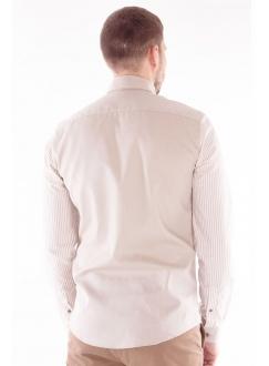 Сорочка з акцентованими рукавами