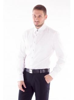 Рубашка со скрытыми пуговицами