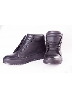 Boots are black