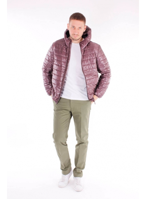 Jacket for men's eggplant
