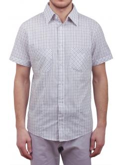 Чоловіча повсякденна сорочка VDone у чорну клітинку