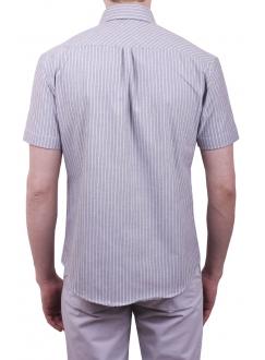 Чоловіча повсякденна сорочка VDone в чорну смужку