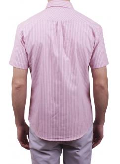 Чоловіча повсякденна сорочка VDone в червону смужку