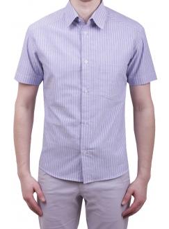 Чоловіча повсякденна сорочка VDone в синю смужку