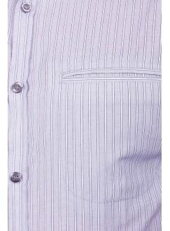 Casual Shirt Gray Stripe