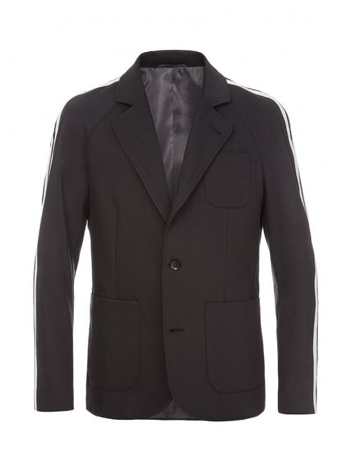 Пиджак черный повседневный