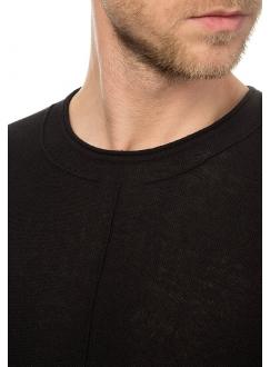 Джемпер трикотажный черный хлопковый