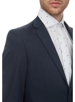 Костюм мужской темно-синий хлопковый