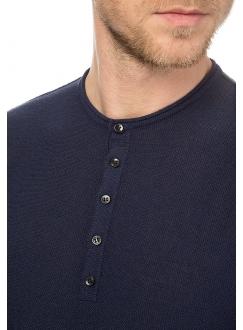 Джемпер трикотажний бавовняний синій