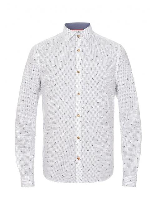 Мужская рубашка с узором
