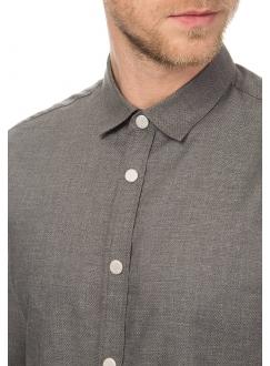 Рубашка повседневная однотонная